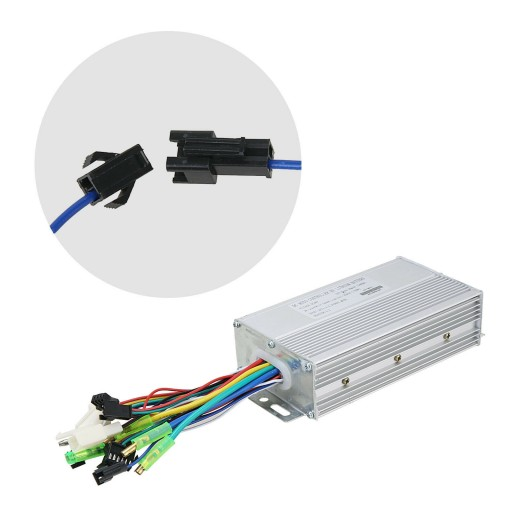 Voilamart 48V 1000W Controller Kit  Ebike Conversion Accessories Electric Bicycle-Only for the kit without LCD display