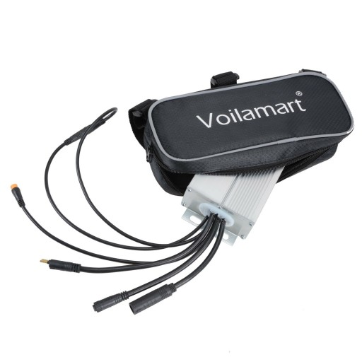 Voilamart Electric Bicycle Controller Bag Kit E-Bike Conversion Storage