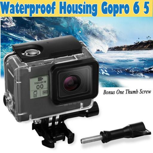 Waterproof Protective Housing Underwater Clear Gopro 5 6
