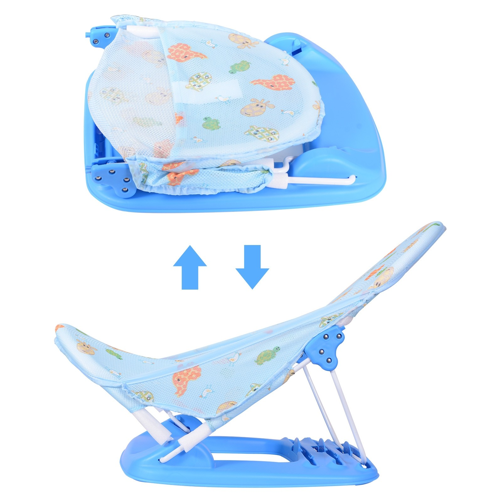 Baby Infant Toddlers Bath Tub Seat Child Shower Stand