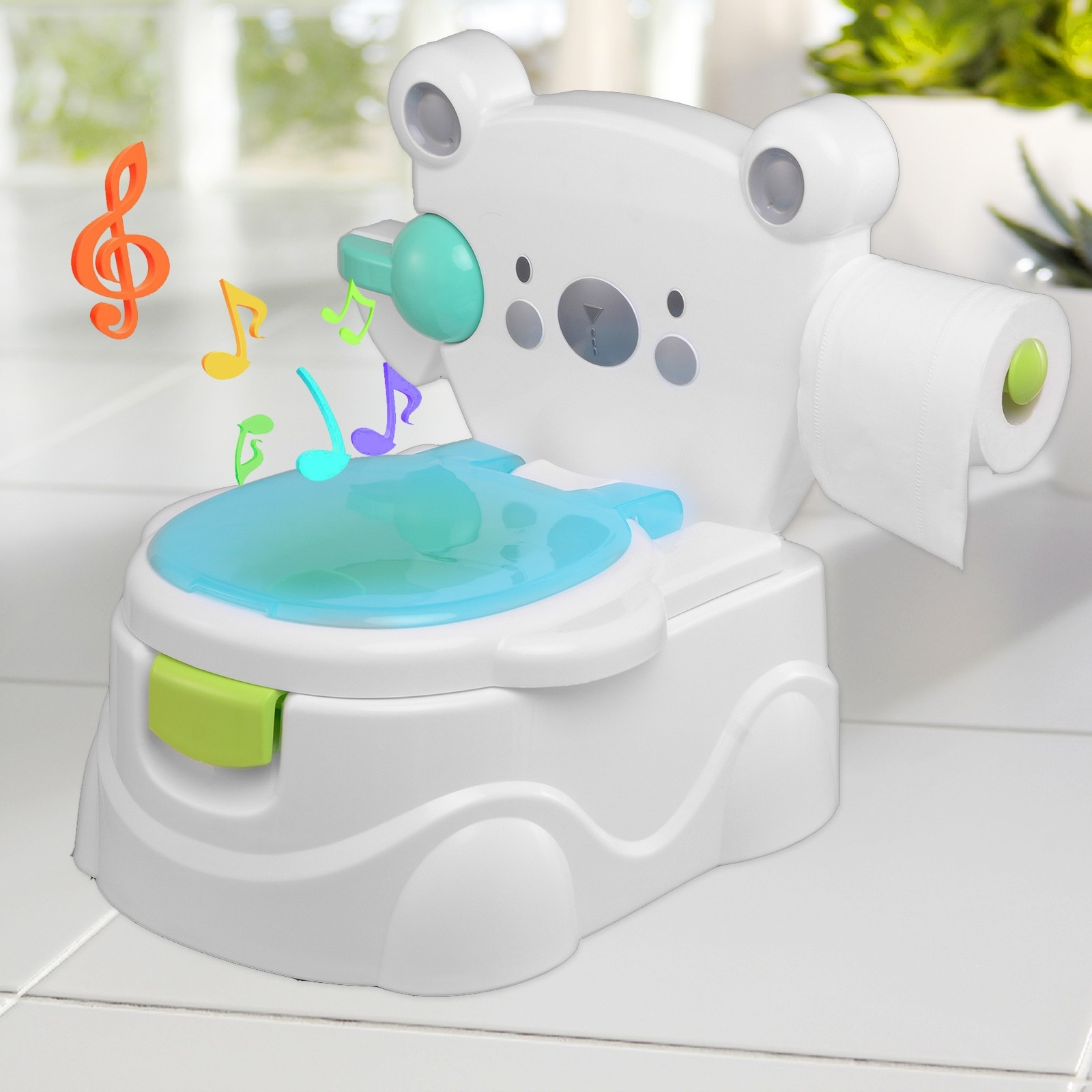 Music Kids Baby Toilet Training Children Toddler Potty