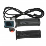 Voilamart 48V Electric Bicycle Twist Throttle Kit Ebike Conversion Accessories-ONLY for the kit without LCD display