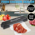 Food Vacuum Sealer Saver Storage Kitchen Machine Packaging Preservation