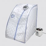 Voilamart Portable Steam Sauna Tent Box Indoor Loss Weight Body Spa Detoxify Slimming Skin