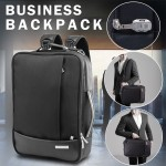 "Anti-Theft 16"" Laptop Backpack Business Bag Shoulder Handle Rucksack School"