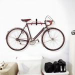 2pc Bicycle Wall Mount Storage Hanger Rack Steel Bike Hook Hanging Stand Garage