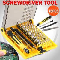Voilamart 46 in 1 Precision Screwdriver Tool Torx Screw Driver Set Kit Repair Phone PC Laptop