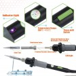 LED Lamp Light Soldering Iron WEP 60W Solder Rework Kit Welding Set ESD 6 Tips