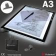 Voilamart A3 LED Light Box Tracing Board Art Design Stencil Drawing Thin Pad Copy Lightbox