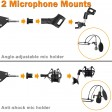 Condenser Microphone Kit Audio Recording Sound Studio Suspension Scissor Stand