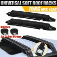 Voilamart Double Car Kayak Surf Roof Racks Soft Canoe Ski SUP Snow Board Surfboard Luggage