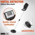 Metal Detector Deep Sensitive Searching Gold Coins Digger Treasure Target Hunter
