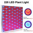LED 225 Grow Light Hydroponic Full Spectrum Indoor Veg Flower Plant Lamp Panel