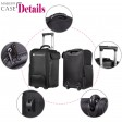 4 in 1 Beauty Cosmetics Makeup Case Trolley Professional Rolling Bag Box Travel