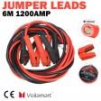 Voilamart 1200A 6M Starthilfekabel Starterkabel Überbrückungskabel mit Tragetasche für Pkw